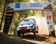 Rovanpera in narrow lead after WRC Acropolis Rally day one
