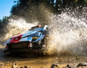 Rovanpera in control after WRC Acropolis Rally day two