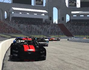 eNASCAR drivers offer an early preview of LA Coliseum track
