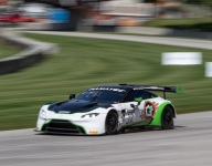 Aston Martin GT3 finding its groove