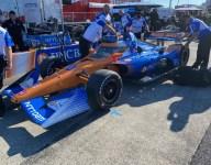 Palou leads incident-filled first Portland IndyCar practice