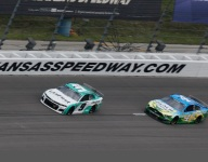 Harvick thinking big picture after third place