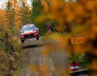 Hyundai duo spoil Rovanpera's birthday on WRC Rally Finland day one