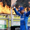 Larson advances to Championship 4 with Texas victory