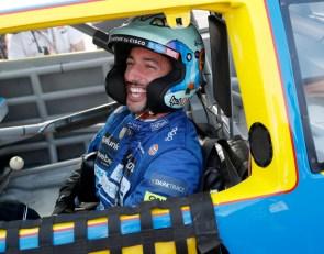 Ricciardo reveals Verstappen message and 'goosebumps' after Earnhardt drive