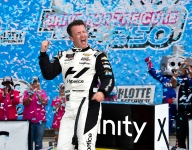 Allmendinger streaks to third straight Xfinity win at Charlotte road course