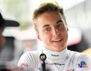 Malukas swooning after first IndyCar test at Barber