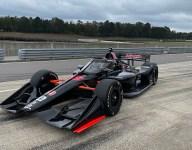 Malukas tops five-car IndyCar test at Barber