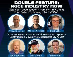 Race Industry Now tech webinar doubleheader