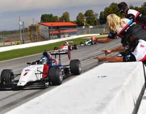 Rasmussen on the brink of Indy Pro 2000 title with Mid-Ohio win