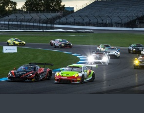 Iribe, Luck, Sabo, Bell take wins in first GT America race at IMS