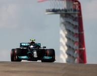 Bottas leads Mercedes 1-2 in opening USGP practice