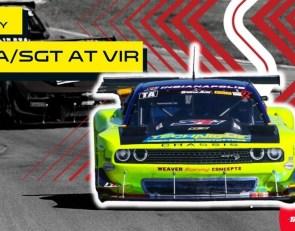 Full race replay: Trans Am TA/SGT at VIR