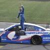 Larson rolls on with Kansas win